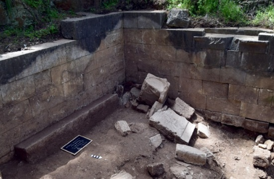 Temple of Nemesis discovered under remains of ancient Mytilini theatre