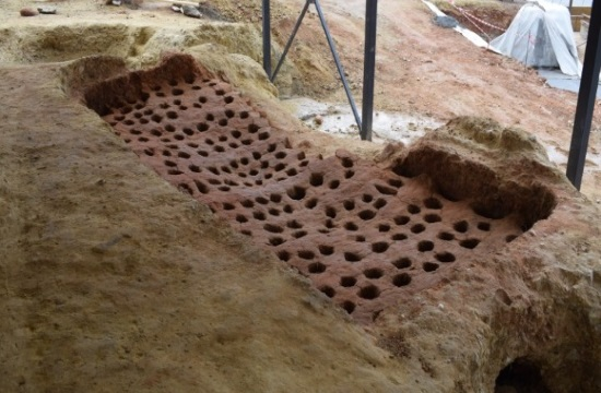 Byzantine pottery kilns unearthed during works in northern Greece