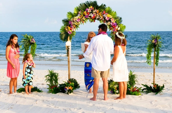 British Travel Agents Boom In Beach Weddings