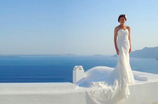 Wedding tourism: Greek island of Santorini among the world's top destinations for 2019