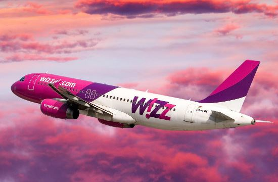 Wizz Air launches eight new routes from Athens in 2018