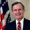 When the late US President George H.W. Bush visited Greece (video)