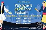 Vancouver's 41st Annual Greek Food Festival returns this week