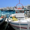 Dozens of traditional boats mark Greece's seafaring heritage in Paros island