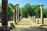 AP: Beijing flame-lighting rehearsal at Ancient Olympia of Greece