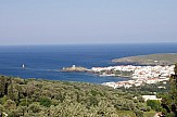 Media: Secret island getaway of Andros near Athens in Greece