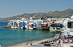 Greece is a popular vacation destination for sports stars and celebrities