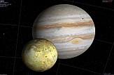 Bigger and brighter Jupiter in Greek night sky on Monday