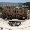 Belgian composer Wim Mertens on Athens Herod Atticus Theater on July 30