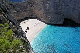 Navagio beach In Greece voted best beach for 2018 by travel publication