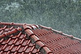 Weather front with with rain and hail expected in mainland Greece
