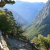 Samaria Gorge near Chania in Greek island of Crete opens to visitors on May 1