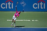 AP: Greek tennis star Tsitsipas earns 1st win over Medvedev at ATP Finals