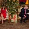 Melania Trump poses as Santa and hears children wishes over the phone