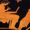 """Ancient Greek homework wax """"tablet"""" presented at the British Library"""