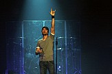 """Enrique Iglesias brings his """"All The Hits Live"""" tour to Greek city of Thessaloniki"""