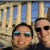 Facebook founder Mark Zuckerberg posts selfie from the Acropolis in Athens