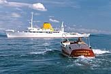 Legendary yacht of Onassis 'Christina O' sails into Greek island of Poros