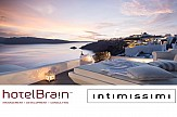 Top fashion bloggers in Santorini for HotelBrain-intimissimi campaign