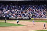 Greek doctors throw out the first pitch at Mets Home Opener in New York
