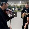 Musical road show enchants locals in Chania city of Crete island (video)