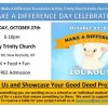 """""""Make a Difference Day"""" with Loukoumi in New York on October 27"""