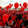 Thousands of Santas storm port of Chania in Crete for children's charities