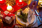 Traditional Greek delicacies for the festive Christmas table