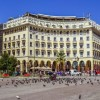 Thessaloniki's historic Aristotelous Square