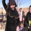 Women burn veils celebrating liberation from ISIS (video)