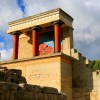 Prince Charles and Camilla visit ancient Greek site of Knossos in Crete
