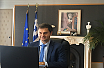 The website will have live online video links to the health ministry coronavirus briefings, infographics on the course of COVID-19, as well as Greek and foreign news coverage on the latest developments