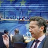 The President of the EuroGroup, Jeroen Dijsselbloem expressed the view that Greece would default if the IMF left the bailout program