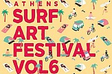 Surf Art Festival Vol. 6 returning to Athens suburb of Faliro on July 12-14