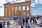 Greece's Hellenic Association of Travel and Tourist Agencies said travel by Greek holiday-makers to domestic and overseas destinations was up by 10%