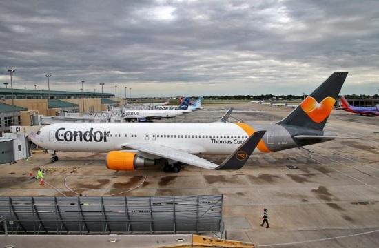 Condor: Πτήσεις από 7 γερμανικά αεροδρόμια σε 16 προορισμούς στην Ελλάδα και Λάρνακα