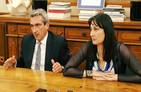 Ο τουρισμός του Ν.Αιγαίου σε σύσκεψη φορέων με την Ε.Κουντουρά