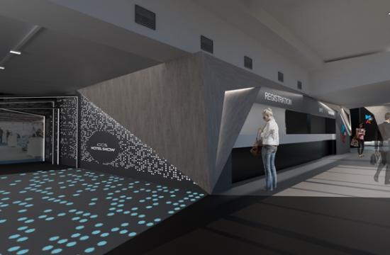 Εικονική πραγματικότητα και Hotel Design Awards Area στην 100% Hotel Show 2018