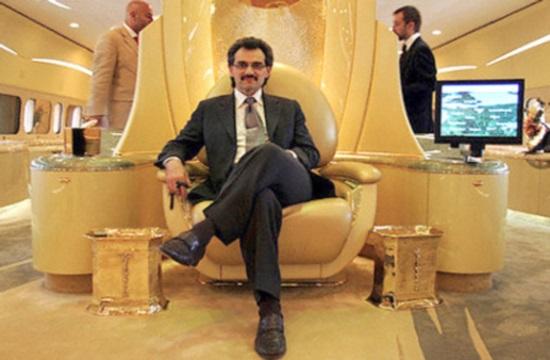 Ξανά για διακοπές στην Κρήτη ο Σαουδάραβας κροίσος  Αλ Ουαλίντ μπιν Ταλάλ