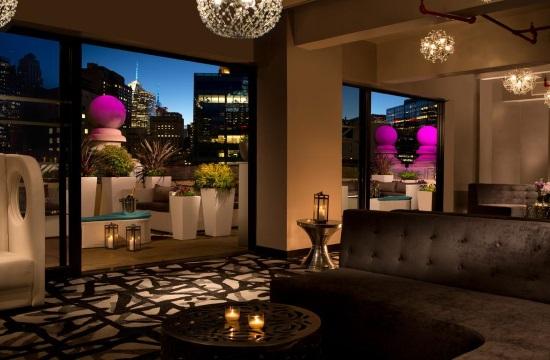 Λουκέτο στο ιστορικό ξενοδοχείο The Roosevelt Hotel στη Ν.Υόρκη