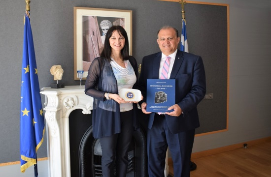 Συνάντηση Έ. Κουντουρά με τον πρόεδρο του Ελληνο-Αμερικανικού Ινστιτούτου ΑΗΙ