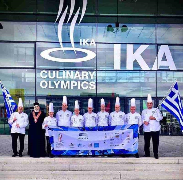 Χάλκινο μετάλλιο στη Λέσχη Αρχιμαγείρων B. Ελλάδος στους Ολυμπιακούς Αγώνες Μαγειρικής