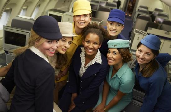Lufthansa: Πασαρέλα σε πτήση προς τη Νέα Υόρκη