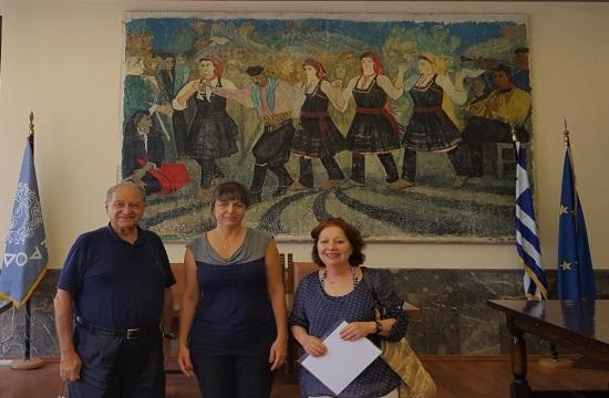 Ο Δήμος Ρόδου τίμησε επισκέπτες από τον Λίβανο