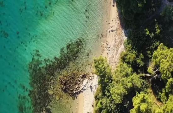 Γαλαζοπράσινα νερά και πεύκα μέσα στη θάλασσα: Η παραλία κοντά στην Αθήνα που είχε ερωτευτεί η Βουγιουκλάκη