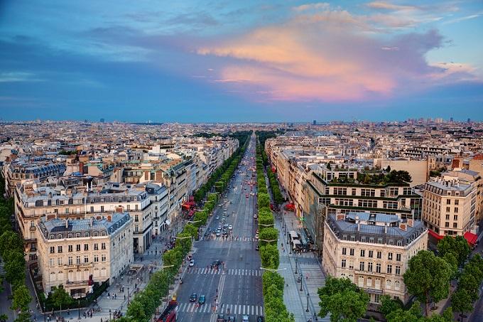 Περιοχή για γυμνισμό κοντά στην καρδιά του Παρισιού