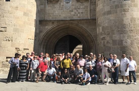 Ξεκίνησε στη Ρόδο το συνέδριο των Αμερικανών τουριστικών πρακτόρων