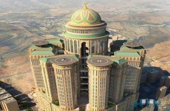 Construyen en La Meca el hotel más grande del mundo
