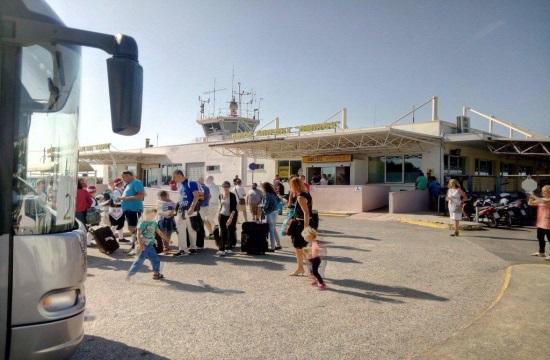 Η Χίος υποδέχθηκε την πρώτη πτήση τσάρτερ