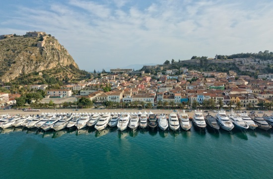 Πέντε ημέρες θα διαρκέσει το έκτο Mediterranean Yacht Show στο Ναύπλιο